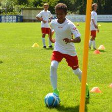 Bild zum Training der Würzburger Fussballschule Michael Hochrein