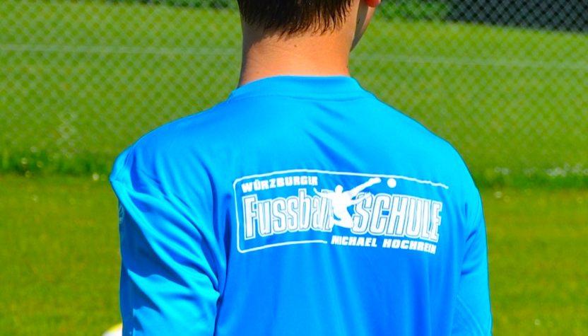 Würzburger Fussballschule Michael Hochrein 2018 - Shirt
